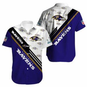 Baltimore Ravens Limited Edition Hawaiian Shirt N01