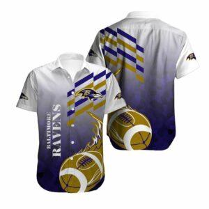 Baltimore Ravens Limited Edition Hawaiian Shirt N02