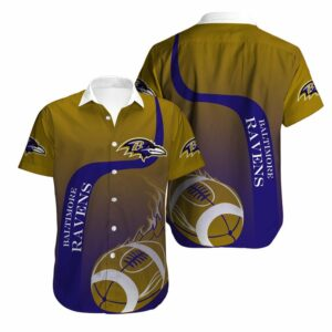 Baltimore Ravens Limited Edition Hawaiian Shirt N03