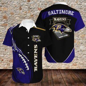 Baltimore Ravens Limited Edition Hawaiian Shirt N05
