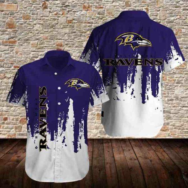 Baltimore Ravens Limited Edition Hawaiian Shirt N08