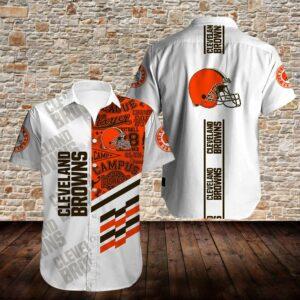 Cleveland Browns Limited Edition Hawaiian Shirt N06