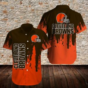 Cleveland Browns Limited Edition Hawaiian Shirt N07