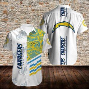 Los Angeles Chargers Limited Edition Hawaiian Shirt N02