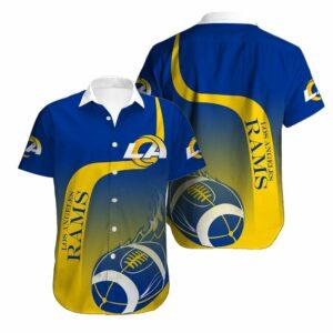 Los Angeles Rams Limited Edition Hawaiian Shirt N04