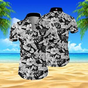Oakland Raiders Hawaiian Shirt Aloha Shirt N03