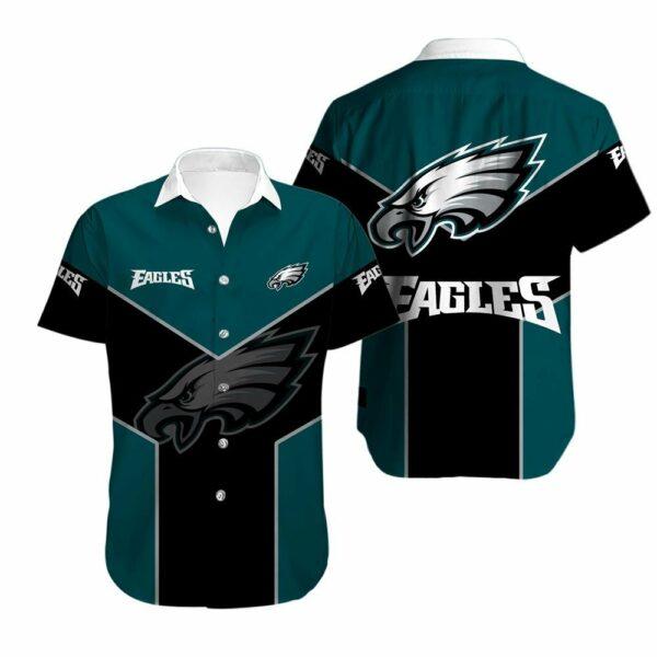 Philadelphia Eagles Limited Edition Hawaiian Shirt N05