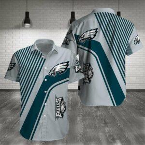Philadelphia Eagles Limited Edition Hawaiian Shirt N06