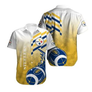 Pittsburgh Steelers Limited Edition Hawaiian Shirt N02