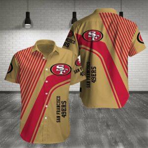 San Francisco 49ers Limited Edition Hawaiian Shirt Model 3