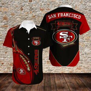 San Francisco 49ers Limited Edition Hawaiian Shirt Model 4