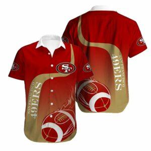 San Francisco 49ers Limited Edition Hawaiian Shirt Model 5