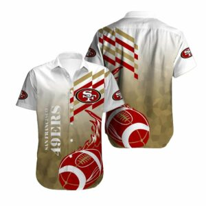 San Francisco 49ers Limited Edition Hawaiian Shirt Model 7