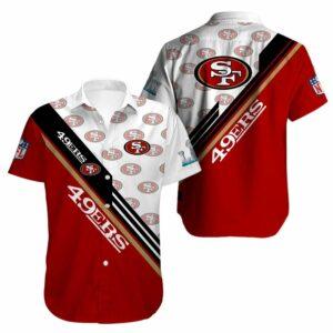 San Francisco 49ers Limited Edition Hawaiian Shirt Model 8