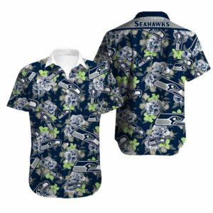 Seattle Seahawks Limited Edition Hawaiian Shirt Model 1