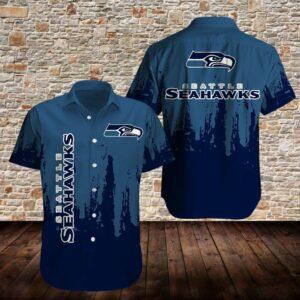 Seattle Seahawks Limited Edition Hawaiian Shirt Model 2