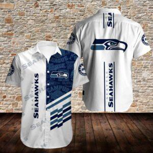 Seattle Seahawks Limited Edition Hawaiian Shirt Model 3