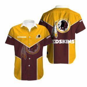 Washington Redskins Limited Edition Hawaiian Shirt N01
