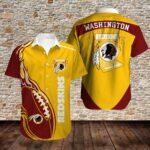 Washington Redskins Limited Edition Hawaiian Shirt N02