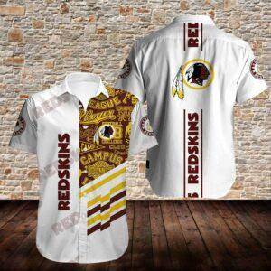 Washington Redskins Limited Edition Hawaiian Shirt N03