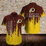 Washington Redskins Limited Edition Hawaiian Shirt N04