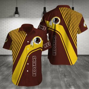 Washington Redskins Limited Edition Hawaiian Shirt N05
