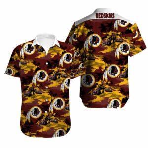 Washington Redskins Limited Edition Hawaiian Shirt N06
