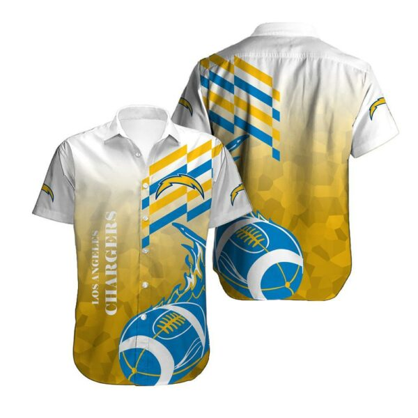 Los Angeles Chargers Limited Edition Hawaiian Shirt N04