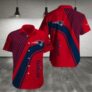 New England Patriots Limited Edition Hawaiian Shirt N05
