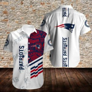 New England Patriots Limited Edition Hawaiian Shirt N04
