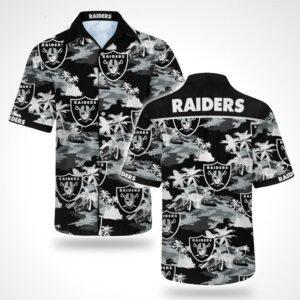 Oakland Raiders Hawaiian Shirt Aloha Shirt N01