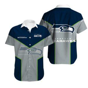 Seattle Seahawks Limited Edition Hawaiian Shirt Model 5