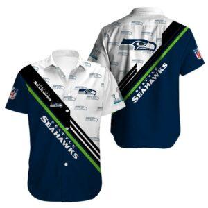 Seattle Seahawks Limited Edition Hawaiian Shirt Model 7