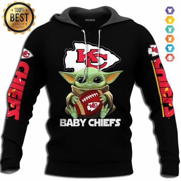 baby yoda kansas city chiefs baby chiefs tshirt hoodie sweat tee shirt hoodie