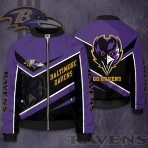 Baltimore Ravens Jacket BR Bomber Jacket