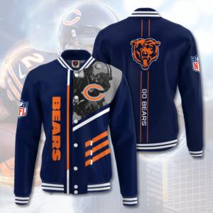 Chicago Bears CB Varsity Jacket