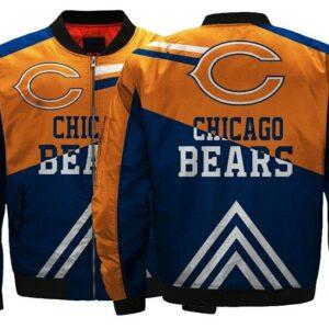 Chicago Bears bomber jacket winter coat gift for men