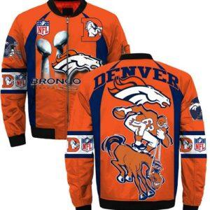 Denver Broncos Jacket Style #4 winter coat gift for men