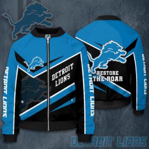 NFL Detroit Lions DL Bomber Jacket
