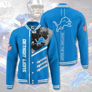 Detroit Lions DL Varsity Jacket