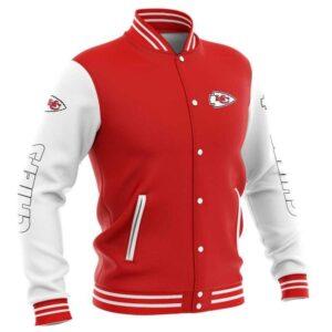 Kansas City Chiefs Baseball Jacket cute Pullover gift for fans