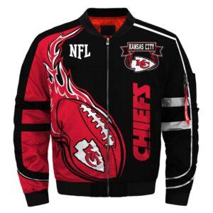 Kansas City Chiefs bomber jacket winter coat gift for men