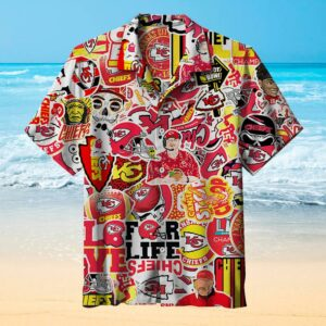 Kansas City Chiefs Fashion Hawaiian Shirt