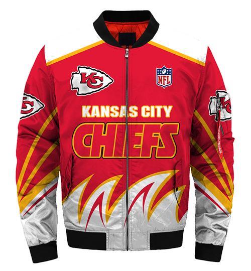 Kansas City Chiefs Jacket Style #1 winter coat gift for men