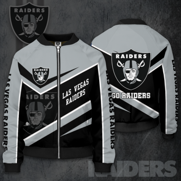 Las Vegas Raiders LVR Bomber Jacket