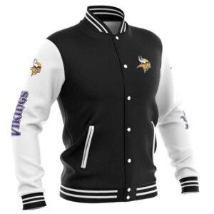 Minnesota Vikings Baseball Jacket cute Pullover gift for fans