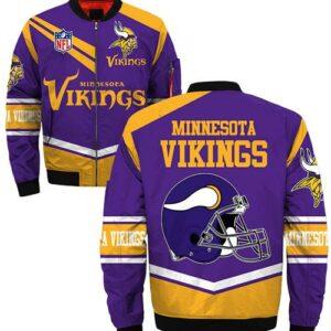 Minnesota Vikings Jacket Style #1 winter coat gift for men