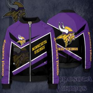Minnesota Vikings MV Bomber Jacket