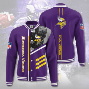 NFL Minnesota Vikings MV Varsity Jacket