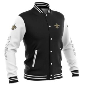 New Orleans Saints Baseball Jacket cute Pullover gift for fans